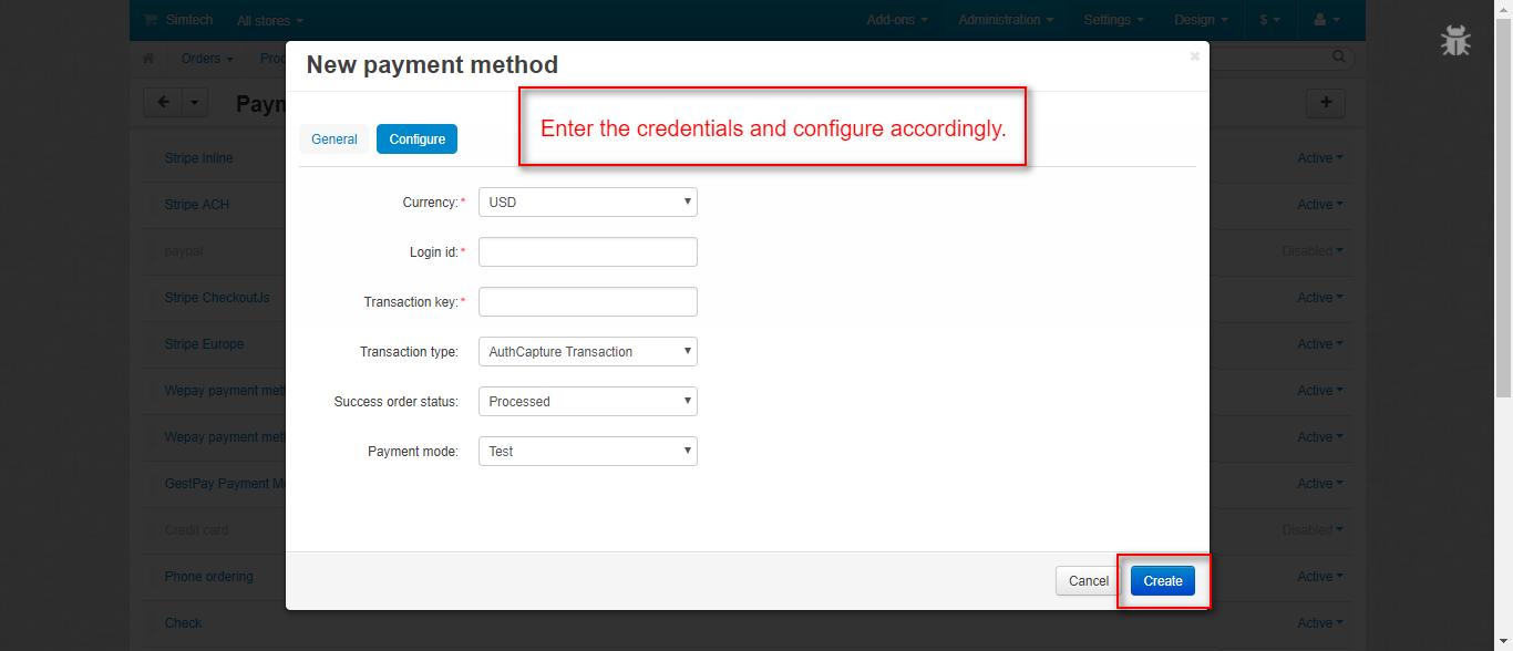CS-Cart Authorize net Payment Gateway | Authorize net Payment Solution