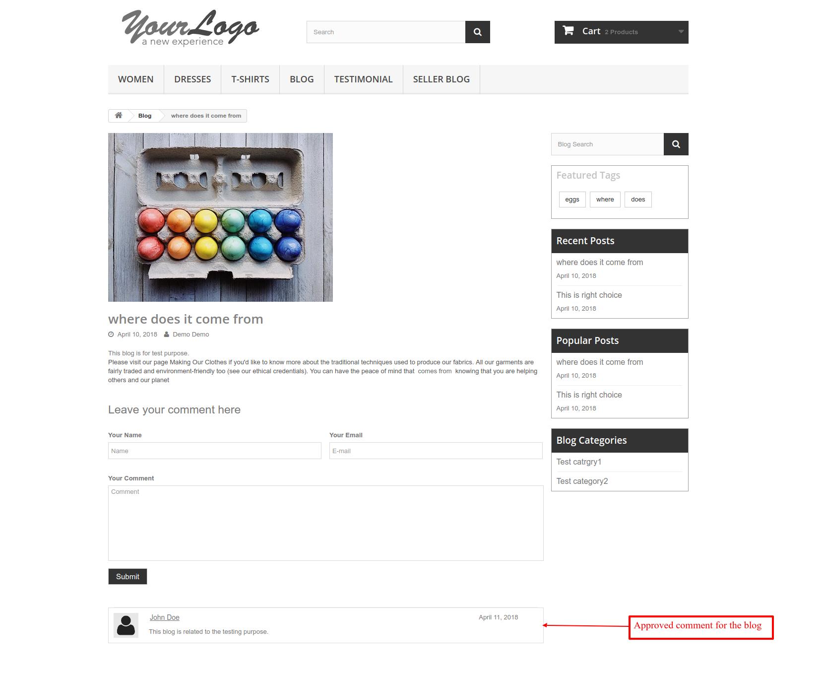 Prestashop Marketplace Blog Addon | Prestashop Seller Posts