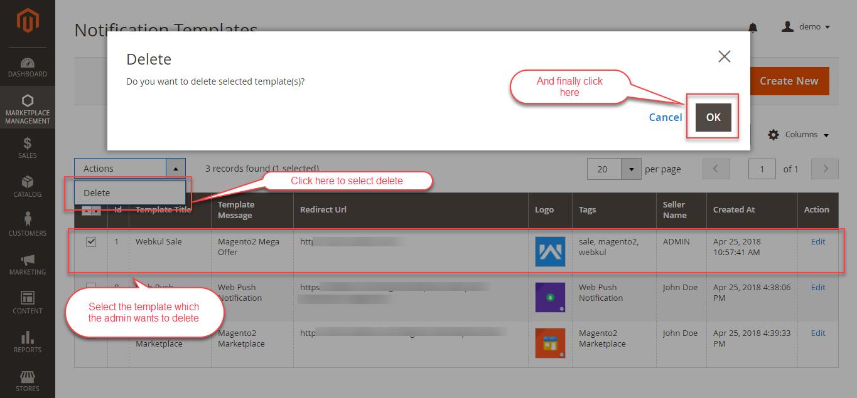 Web Push Notification for Magento Marketplace