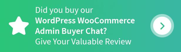 WordPress WooCommerce Admin Buyer Chat Plugin - 6