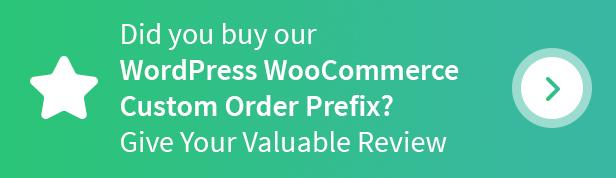 WordPress WooCommerce Custom Order Prefix Plugin - 6