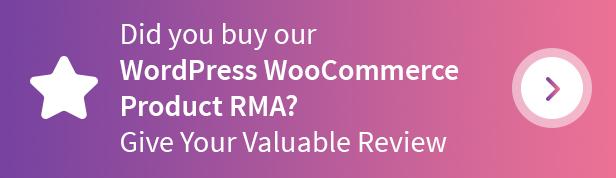 WordPress WooCommerce Product RMA Plugin - 4