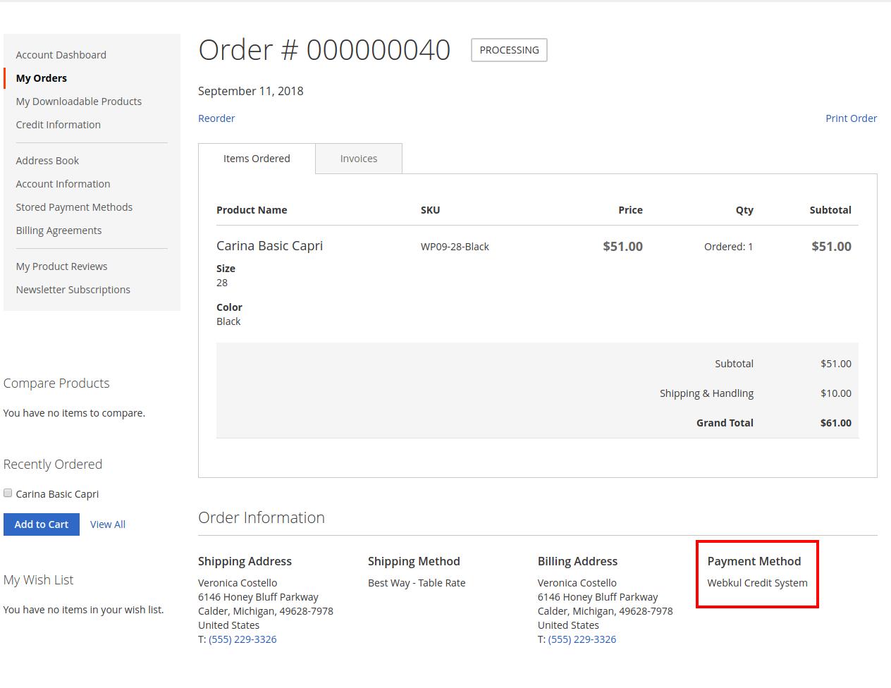 Magento 2 Buyer Credit Extension Customer Prepaid Module