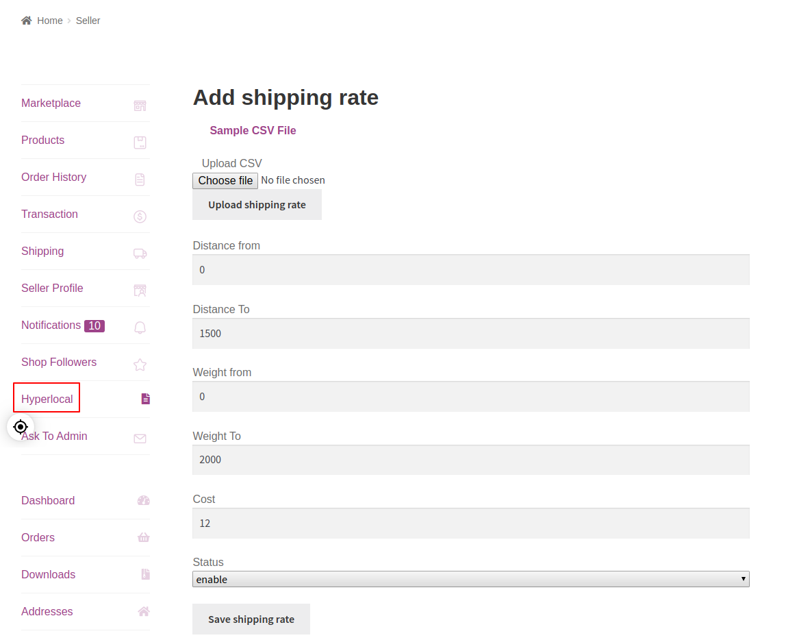 Multi-Vendor Hyperlocal Marketplace Plugin for WooCommerce