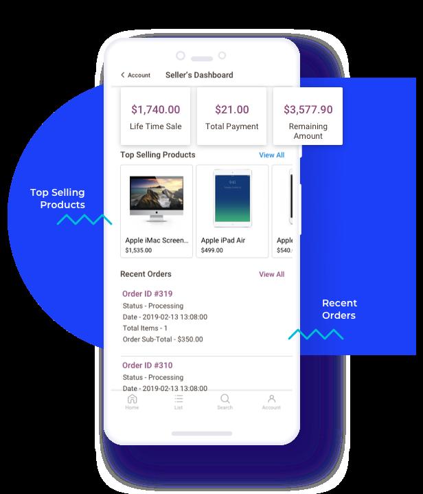 Multi Vendor Mobile App (iOS) for WooCommerce - 14