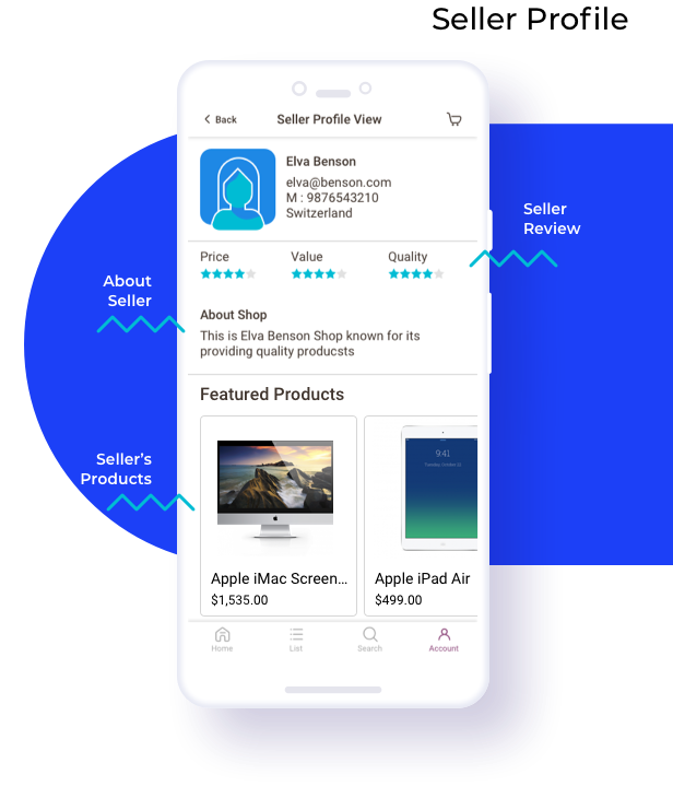 Multi Vendor Mobile App (iOS) for WooCommerce - 12