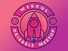 Webkul Dribbble MeetUp 2018