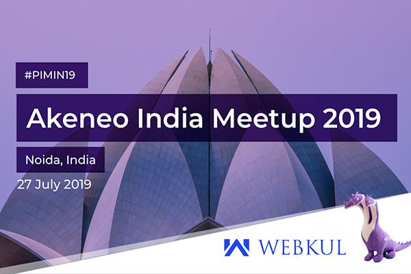 Akeneo Webkul India MeetUp 2019