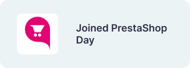 Joined PrestaShop Day