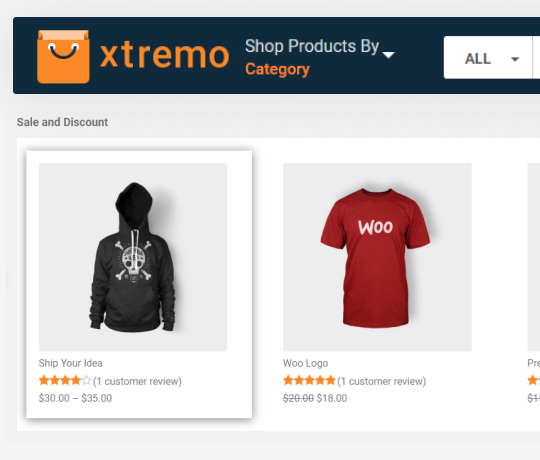 WooCommerce Template Development